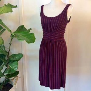 Bailey 44 striped knit dress with bonus dress